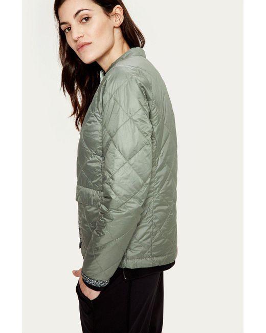 Lolë - Green Kora Reversible Jacket - Lyst