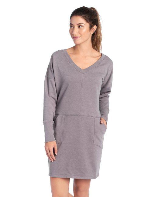 Lolë - Purple Sohan Dress - Lyst