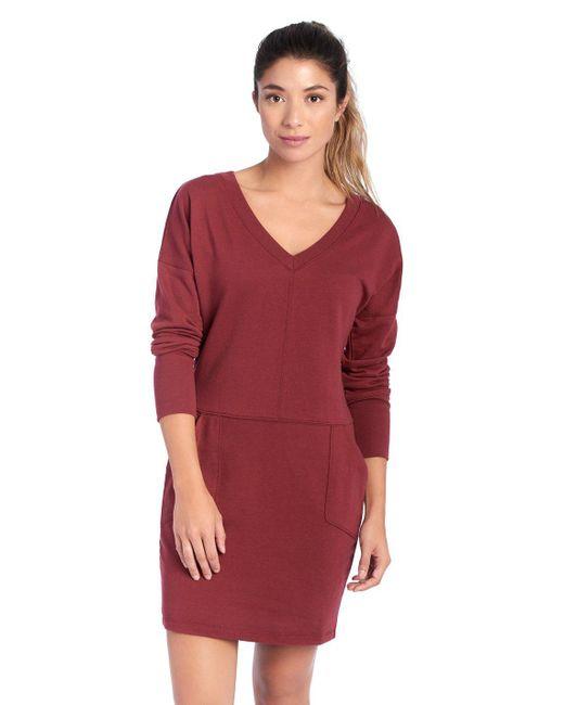 Lolë - Red Sohan Dress - Lyst
