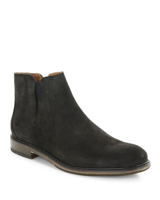 varvatos sid suede boots in multicolor for lyst