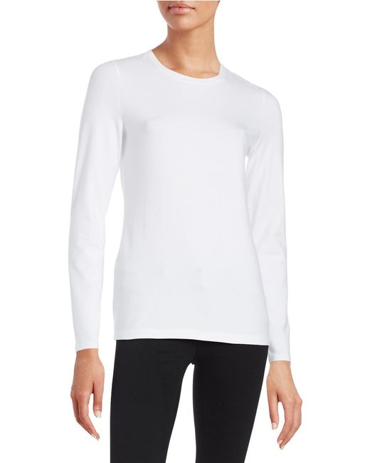 Lord & Taylor | Pink Long Sleeve Tee | Lyst