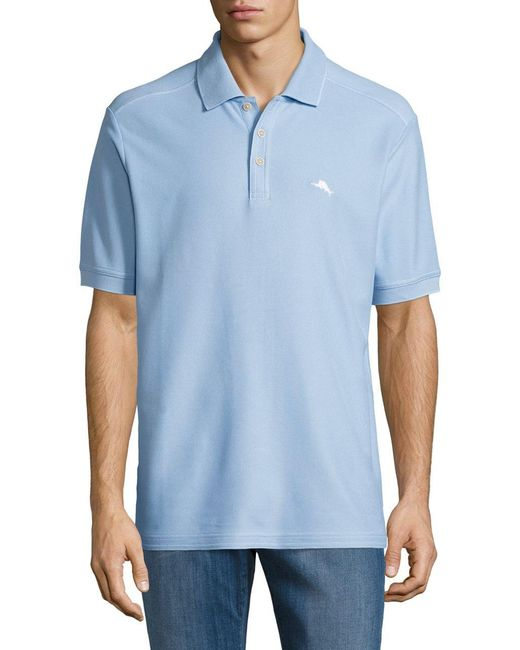 Tommy Bahama | Blue Emfielder Polo Shirt for Men | Lyst