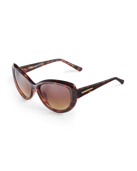 Vince Camuto | Brown Cat Eye Sunglasses | Lyst