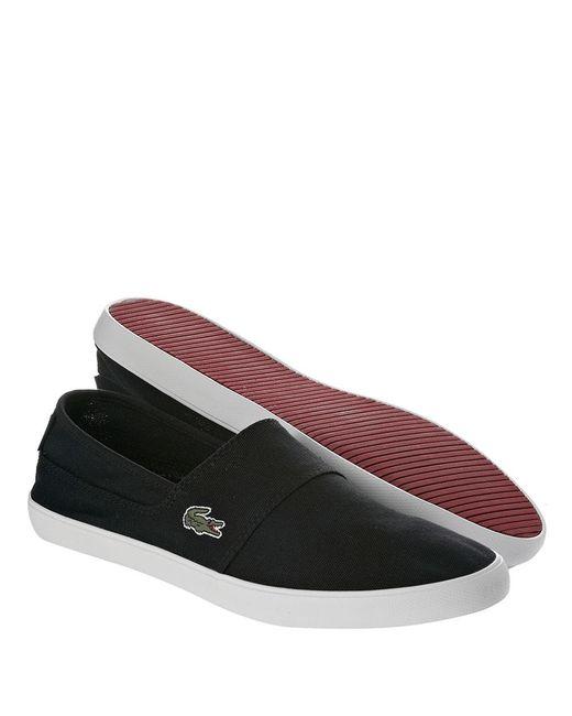 Lacoste | Black Maurice Slip-on Sneakers for Men | Lyst
