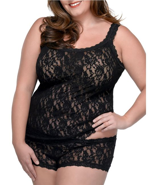 Hanky Panky | Black Plus Size Signature Lace Camisole | Lyst