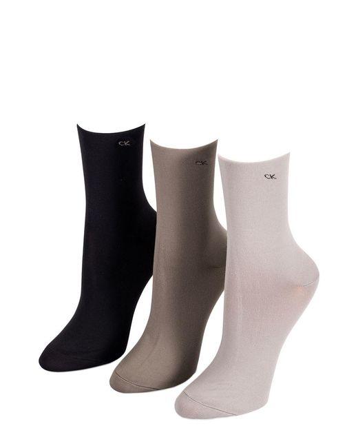Calvin Klein | Brown 5-pack Crew Socks | Lyst