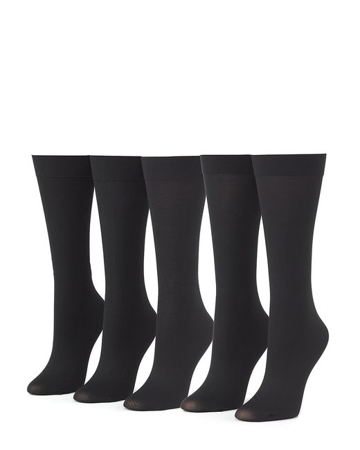 Calvin Klein | Black 5-pack Trouser Socks | Lyst