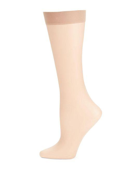 Donna Karan   Multicolor Nude Knee Highs   Lyst