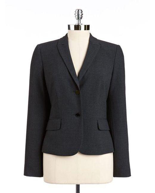 Calvin Klein | Black Two Button Blazer | Lyst