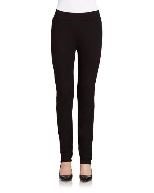 NYDJ | Black Knit Ponte Pants | Lyst