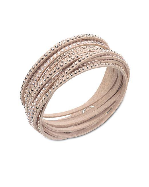 Swarovski   Natural Slake Bracelet   Lyst