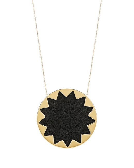 House of Harlow 1960 | Black Large Pendant Sunburst Necklace | Lyst