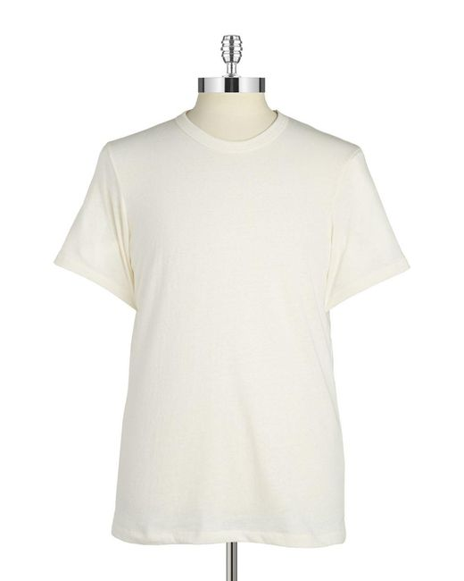 Alternative Apparel | White Eco Crew T-shirt for Men | Lyst