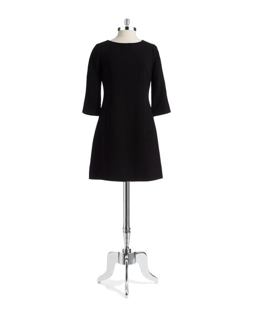 Eliza J | Black Knit A-line Dress | Lyst