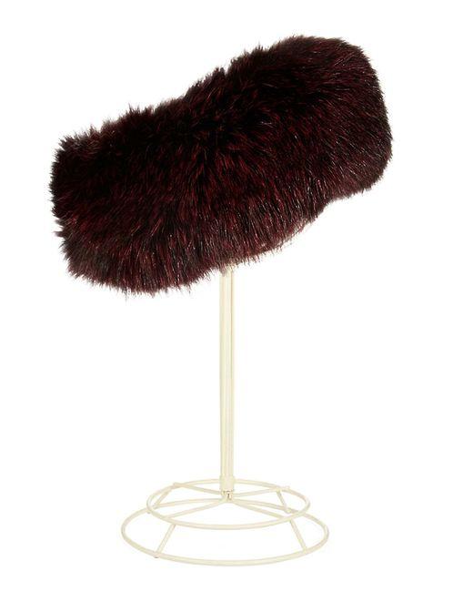 Surell | Black Fox Fur Headband/collar | Lyst