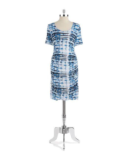 Lyssé | Blue Marais Stretch-sheath Dress | Lyst