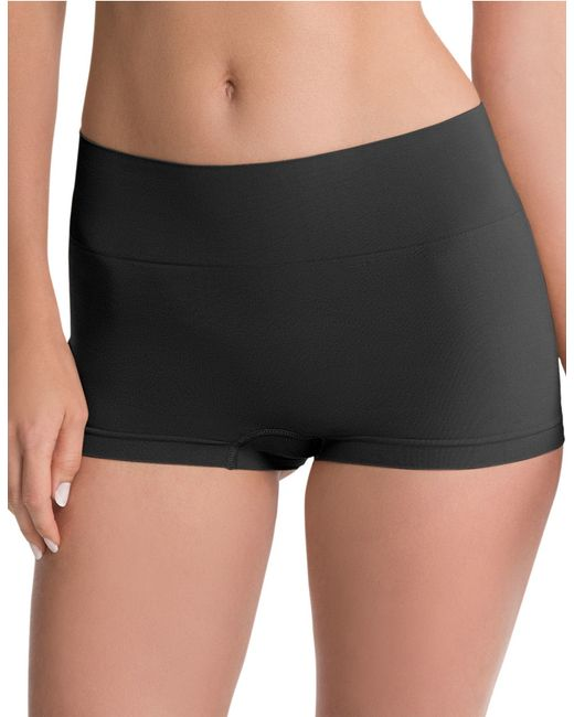 Spanx | Black Shaping Boyshort Panties | Lyst