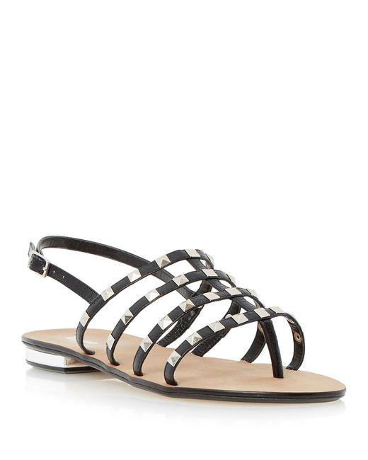 Dune | Black Katrine Sandals | Lyst