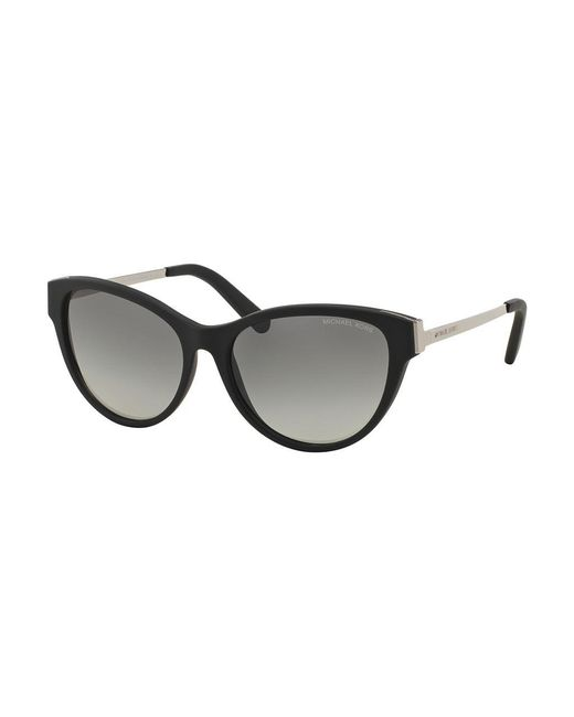 Michael Kors | Black Punte Arenas Cat-eye 57mm Sunglasses | Lyst