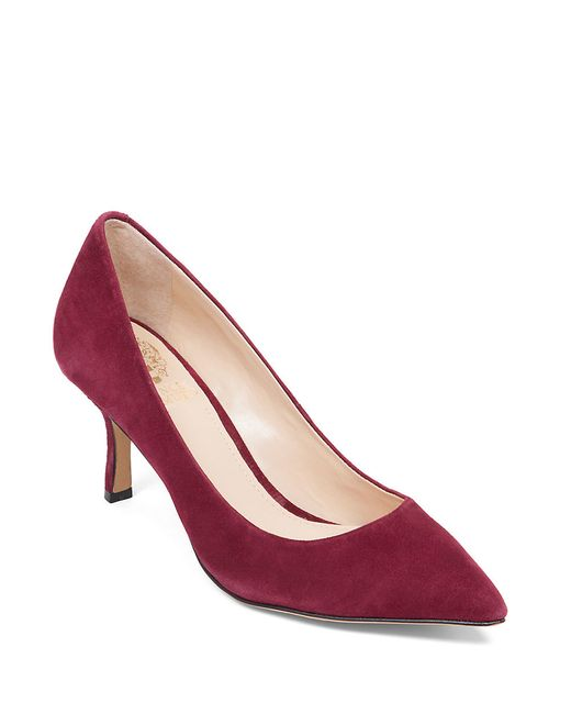 Vince Camuto | Red Vivienne Suede Pumps | Lyst