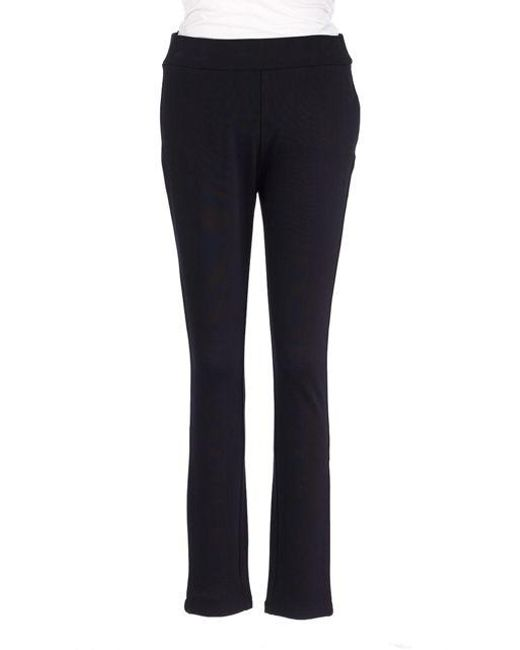 NYDJ   Black Petite Knit Ponte Pants   Lyst