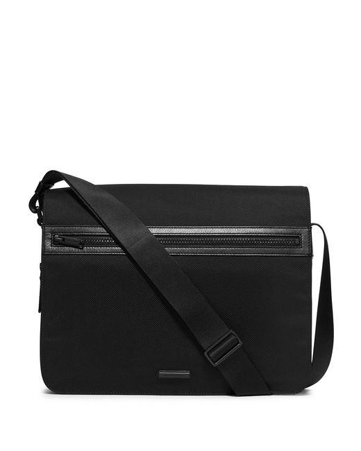 Michael Kors | Black Nylon & Leather Messenger Bag for Men | Lyst