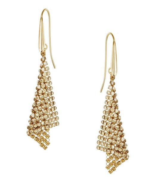 Swarovski | Metallic Fit Small Pierced Earrings | Lyst