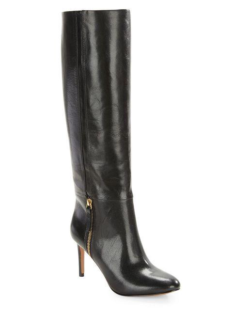 Nine West | Black Vintage Leather Boots | Lyst