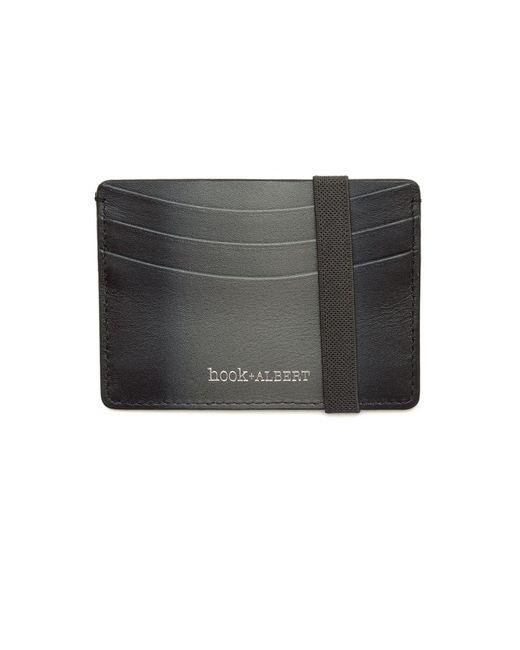 Hook + Albert | Gray Gradient Leather Card Case for Men | Lyst