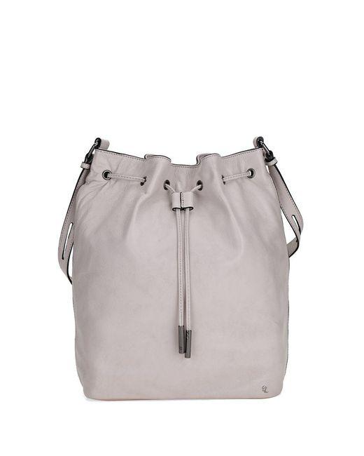 Elliott Lucca | Gray Marion Drawstring Leather Bag | Lyst