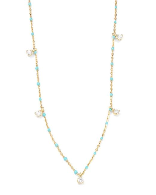 Tai | Metallic Crystal Scatter Necklace | Lyst