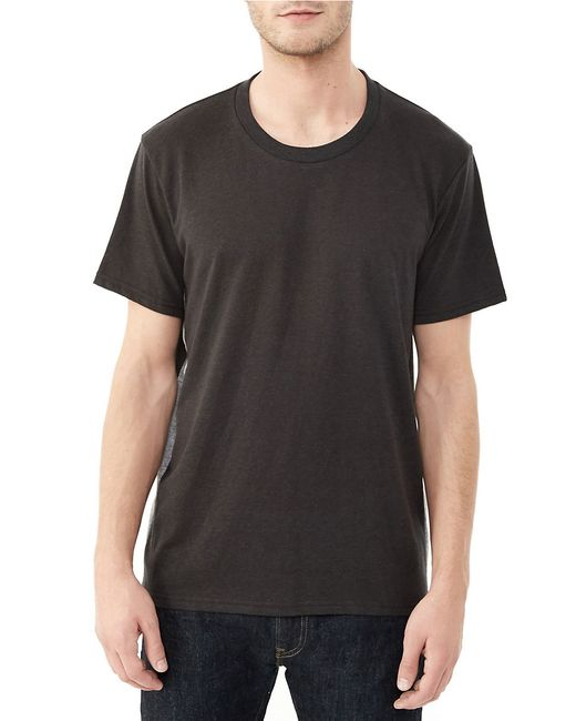 Alternative Apparel | Black Short Sleeve Tee for Men | Lyst