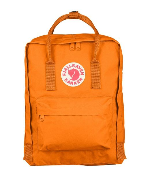 Fjallraven | Orange Kanken Backpack | Lyst