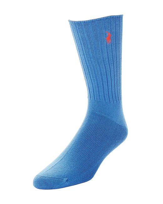 Polo Ralph Lauren | Blue Ribbed Socks for Men | Lyst