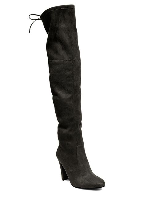 Steve Madden - Black Gorgeous Over-the-knee Boots - Lyst