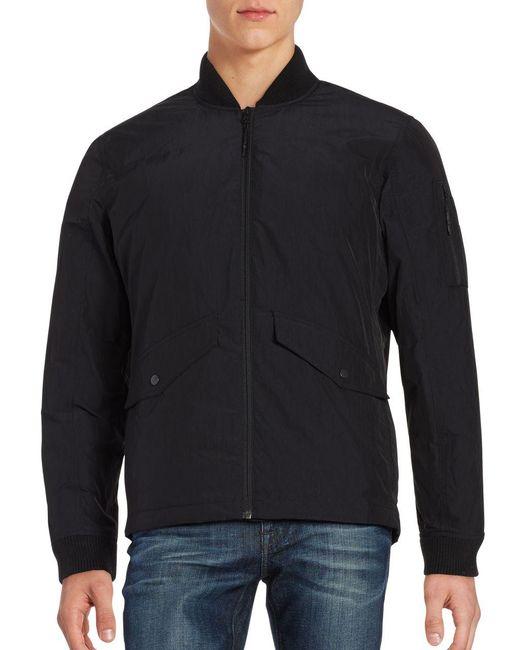 Hawke & Co. - Black Work Down Bomber Jacket for Men - Lyst