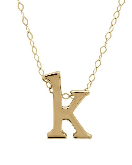 Lord & Taylor - Metallic 14k Gold Pendant Necklace - Lyst