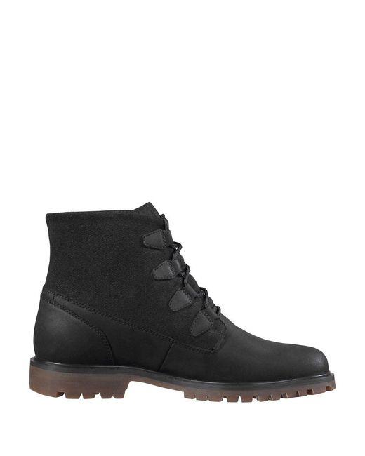 Helly Hansen - Black Cordova Waterproof Suede Winter Boots for Men - Lyst
