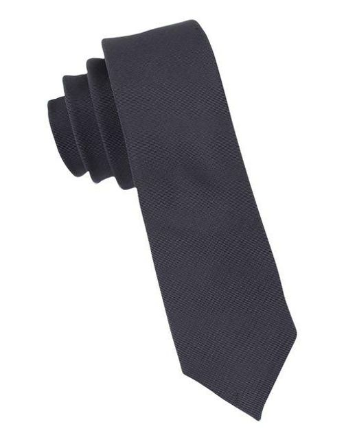CALVIN KLEIN 205W39NYC - Multicolor Slim Fit X Liquid Luxe Solid Silk-blend Tie for Men - Lyst