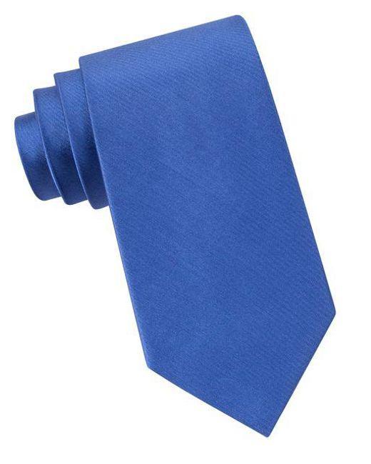 Michael Kors | Blue Sapphire Silk Tie for Men | Lyst