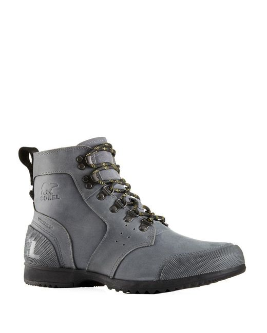 Sorel - Gray Ankeny Mid-hiking Boots for Men - Lyst