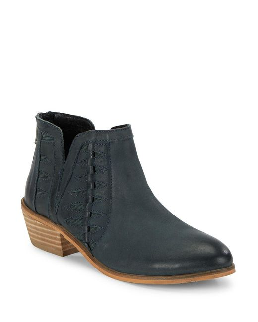 Charles David - Blue Yuma Ankle Booties - Lyst