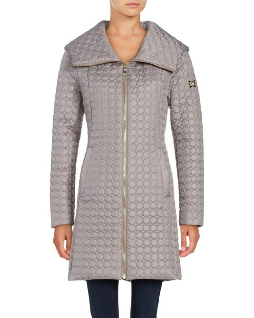 Dawn Levy - Natural Gwena Quilted Hooded Walker Coat - Lyst