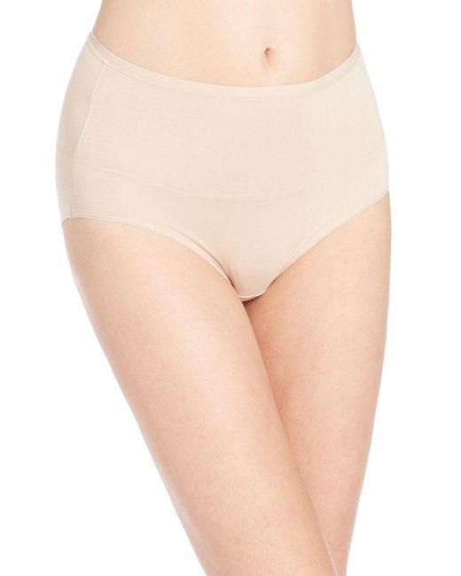 Tc Fine Intimates - Natural Modal Hi-cut Panty - Lyst