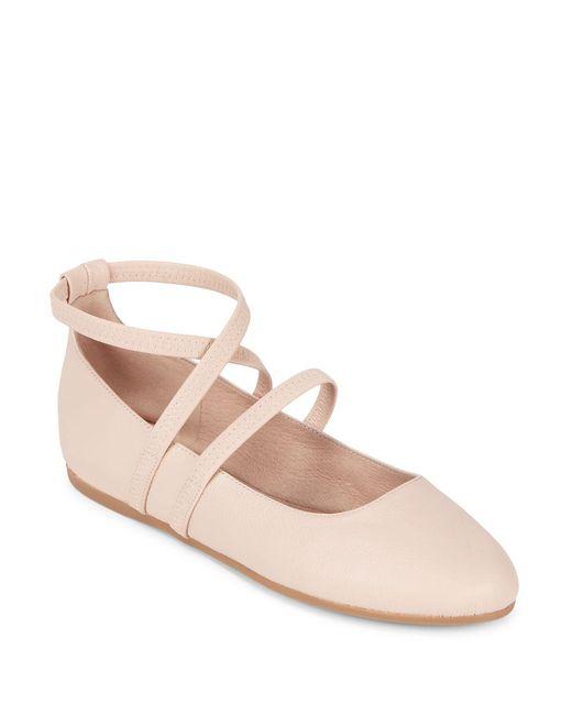 Eileen Fisher   Pink Joe Strappy Ballet Flats   Lyst