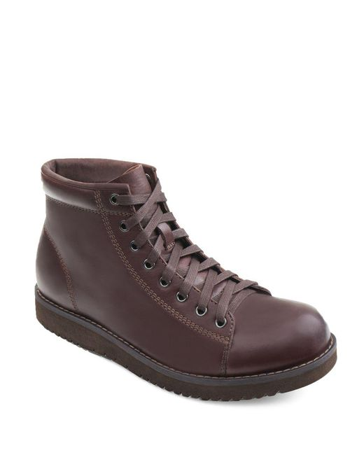 Eastland - Brown Aiden Leather Boots for Men - Lyst
