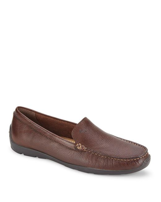 Tommy Bahama - Brown Orion Leather Venetian Drivers for Men - Lyst
