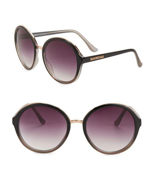 Vince Camuto - Black 64mm Pantos Sunglasses - Lyst