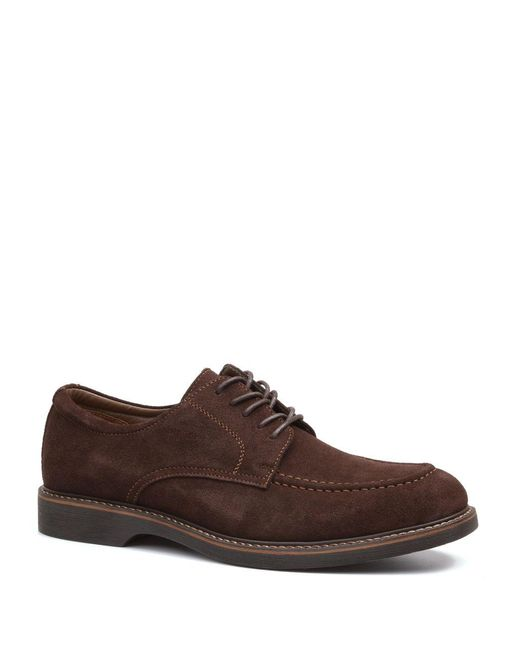 G.H. Bass & Co. - Brown Pasadena 1 Suede Derby Shoes for Men - Lyst