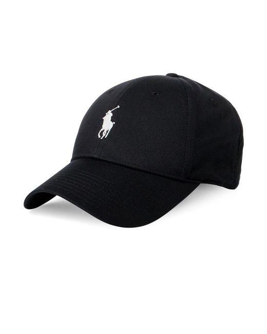 Polo Ralph Lauren - Black Baseline Baseball Cap for Men - Lyst